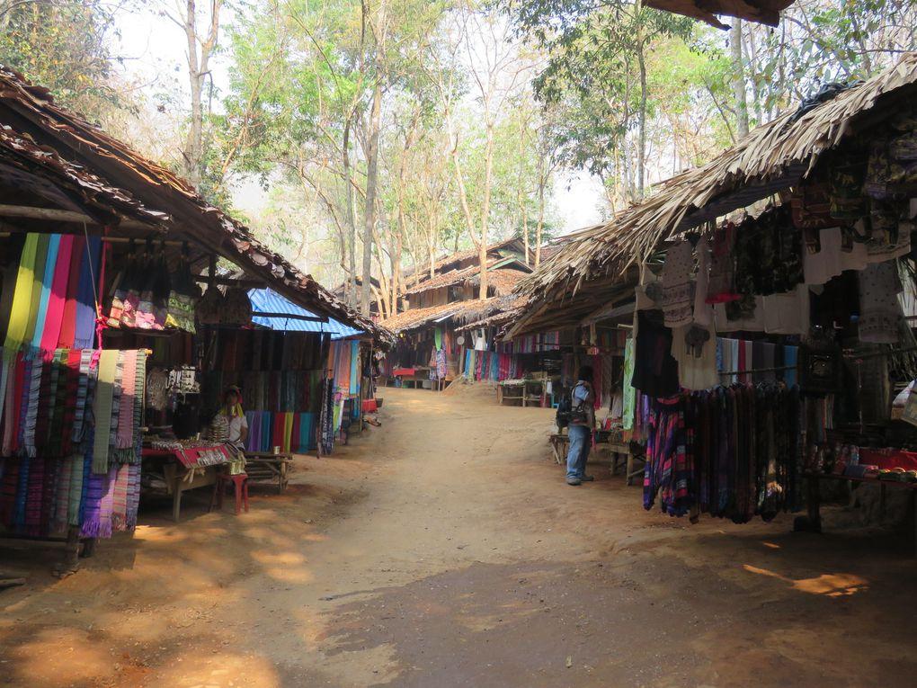 Voyage en Thaïlande....  Mae Taeng puis Chiang mai pour le retour à Bangkok en train de nuit