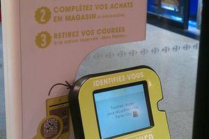 Carrefour City St Lazarre : l'appli ''Mon Panier '' m-commerce en test.. discret !