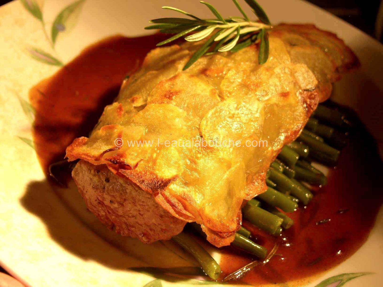 Coquille d'Agneau Croustillante à la Sauce Porto