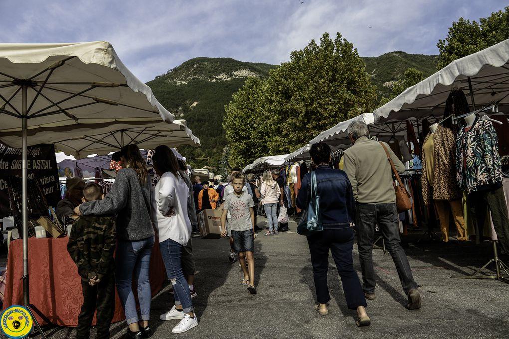 Saint André les Alpes : La 36èmefoire agricole est passée juste à travers les gouttes