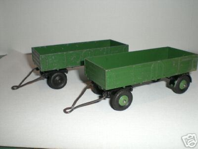 Following the small trailer, the big one : DINKY GB #551/951/428 BIG TRAILER