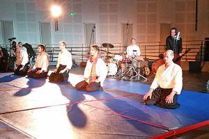 Démonstration d'Aïkido en musique, mercredi 10 février.