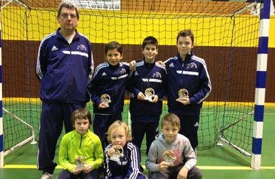 Finale futsal départementale des U11 - mardi 11 mars 2014 à Saint Berthevin