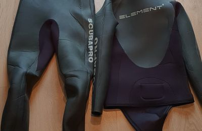 To sell 4/5mm Scubapro Element wetsuit