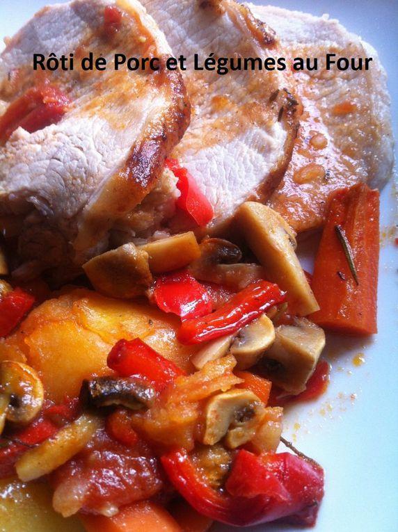 Rôti de Porc et Légumes au Four