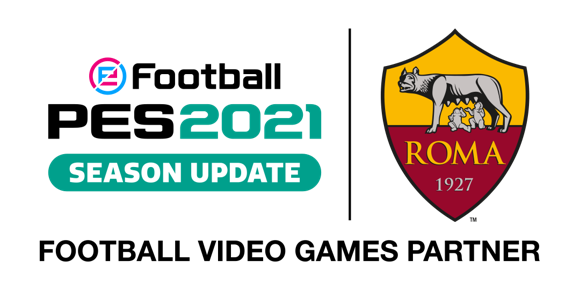 [ACTUALITE] eFootball PES 2021 SEASON UPDATE - Partenariat exclusif avec l'AS Rome