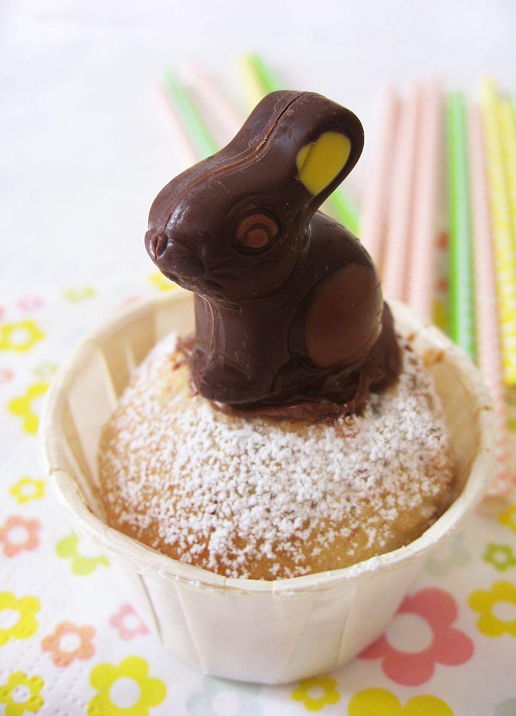 Cupcakes de Pâques & ces petits chocolats de la ferme - Farm Easter cupcakes