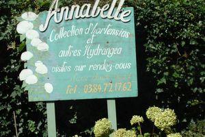 Mes visites de jardins dans le Jura ! Collection Annabelle