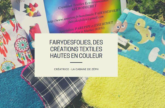 Fairydesfolies, des créations textiles hautes en couleur