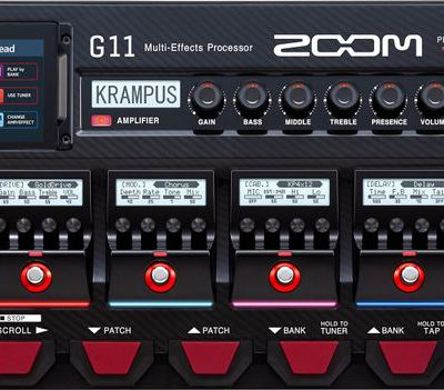 TEST : multi-effets ZOOM G11
