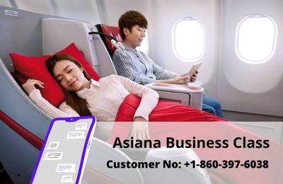 Fly High With Asiana Business Class Flights At Low-Cost!