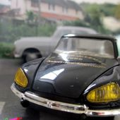 CITROEN DS 21 BERLINE CLUB DS DU LEMAN ELIGOR 1/43 - car-collector.net