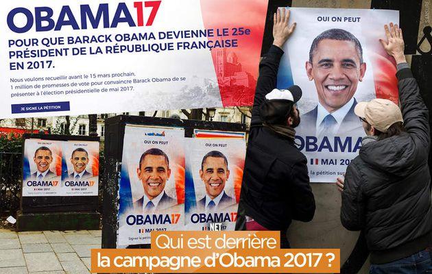 Qui est derrière la campagne d'Obama 2017 ? #buzz