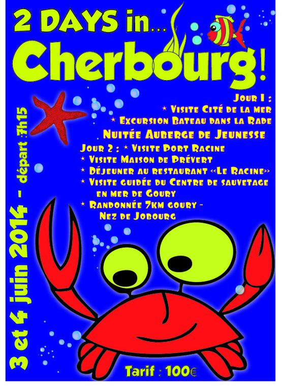 2 days in... Cherbourg