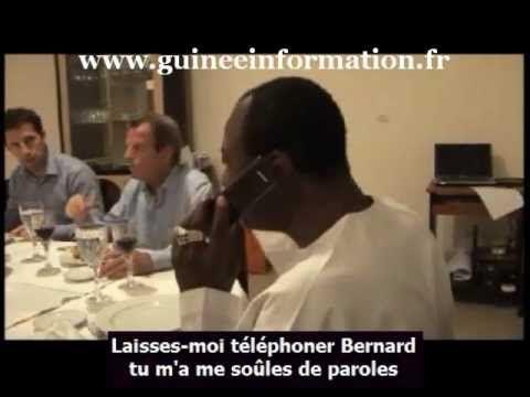 Alpha Condé et Bernard Kouchner pris en flagrant délit de papotage (vidéo)