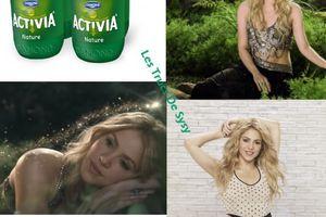 Shakira ambassadrice d'ACTIVIA