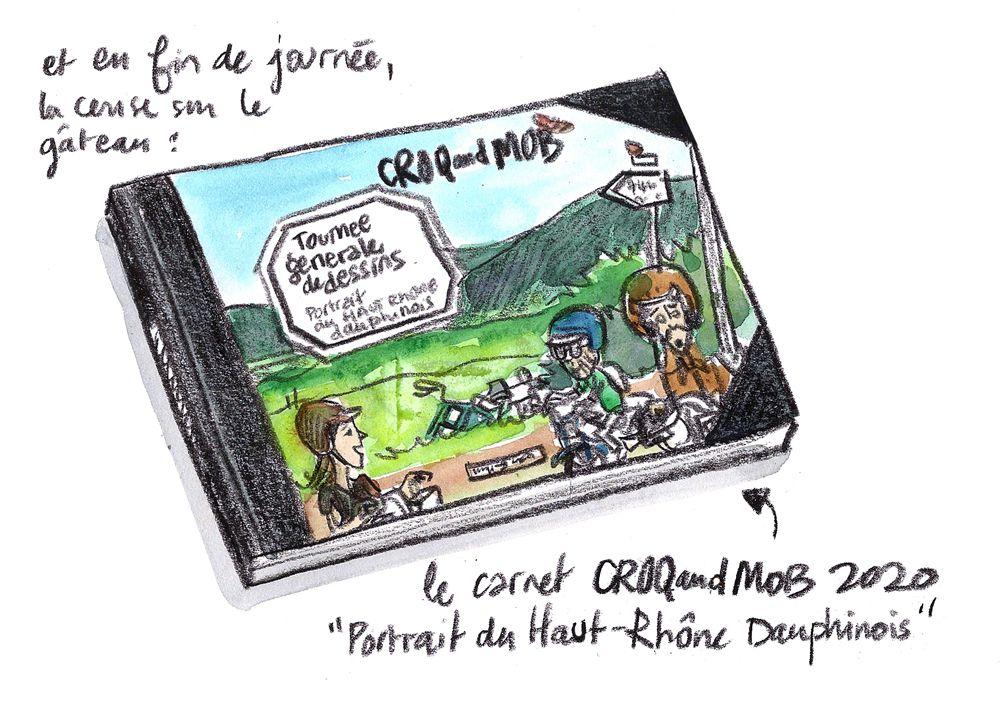 Portrait du Haut-Rhône Dauphinois - Croq and Mob  // emdé - Voyagitudes, 2020