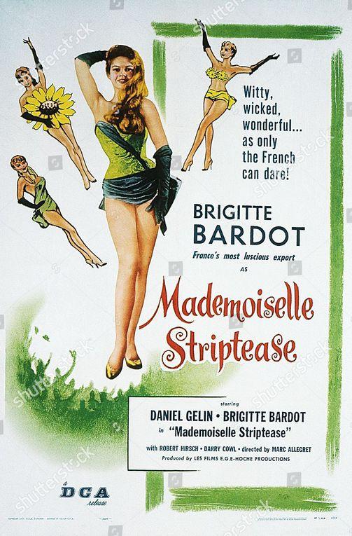 Filmographie Brigitte Bardot : En effeuillant la marguerite de 1956