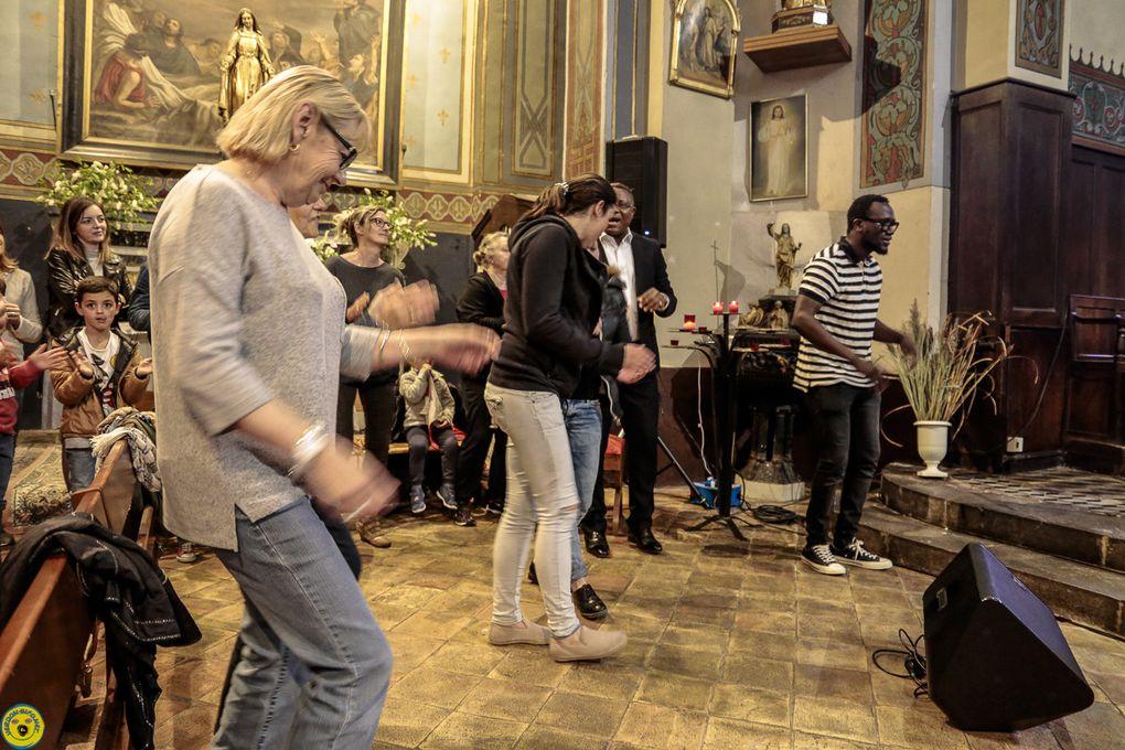 Saint André les Alpes : Un concert Gospel qui a fait trembler les murs de l'église