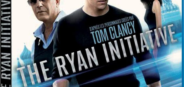 """THE RYAN INITIATIVE"", LE 4 JUIN EN DVD & BLU-RAY !"