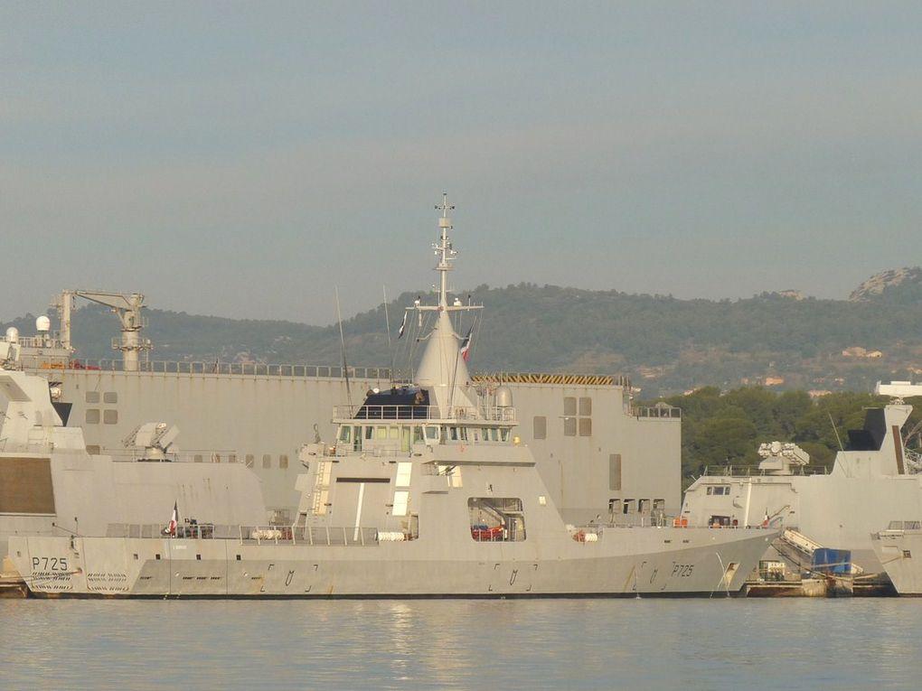 L'ADROIT P 725 , Patrouilleur de Surveillance  Océanique - PSO
