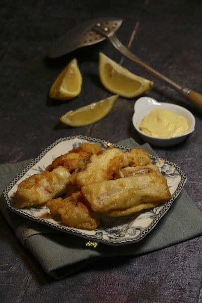 BEIGNETS DE FILETS DE POISSON