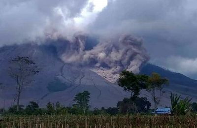 Activity of Sinabung, Merapi and Rincon de La Vieja.