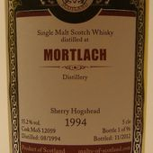 Mortlach 18Y MoS - Passion du Whisky & Friends