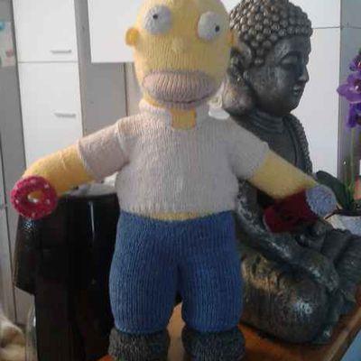 Homer et Marge sont chez Pascale