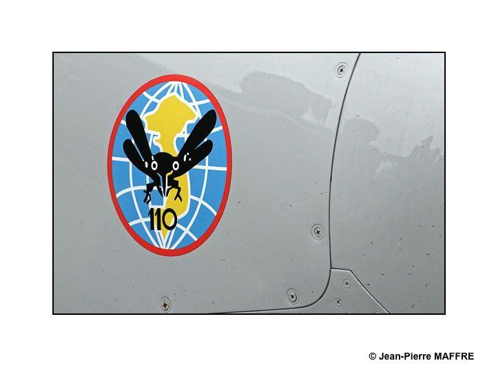 L'aviateur éprouvera toujours le besoin de laisser sur la carlingue de son avion sa marque originale et fantaisiste. La Ferté Alais, le Bourget France.