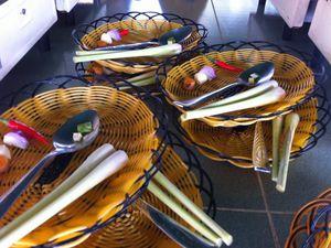 Curry de poulet : cours de cuisine au Cambodge