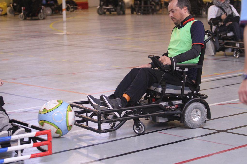 Fortiunes diverses pour Handisport Lyonnais lors de la première journée de D1 de foot-fauteuil