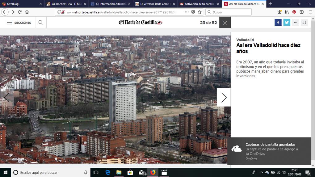 Valladolid || Así era Valladolid hace diez años.- El Muni.