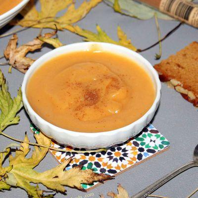Compote de l'automne au saveur pain d'épices