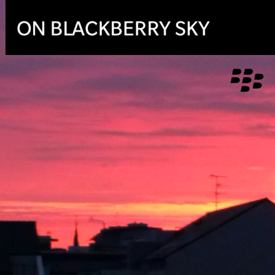 On BlackBerry sky