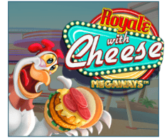 machine a sous mobile Royale with Cheese Megaways logiciel iSoftBet