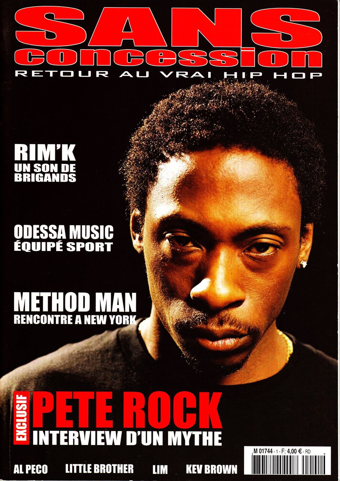 Pete Rock, Rim'K (113), Odessa Music et Method Man - Sans concession (fanzine hip-hop) - le rap c'était mieux avant