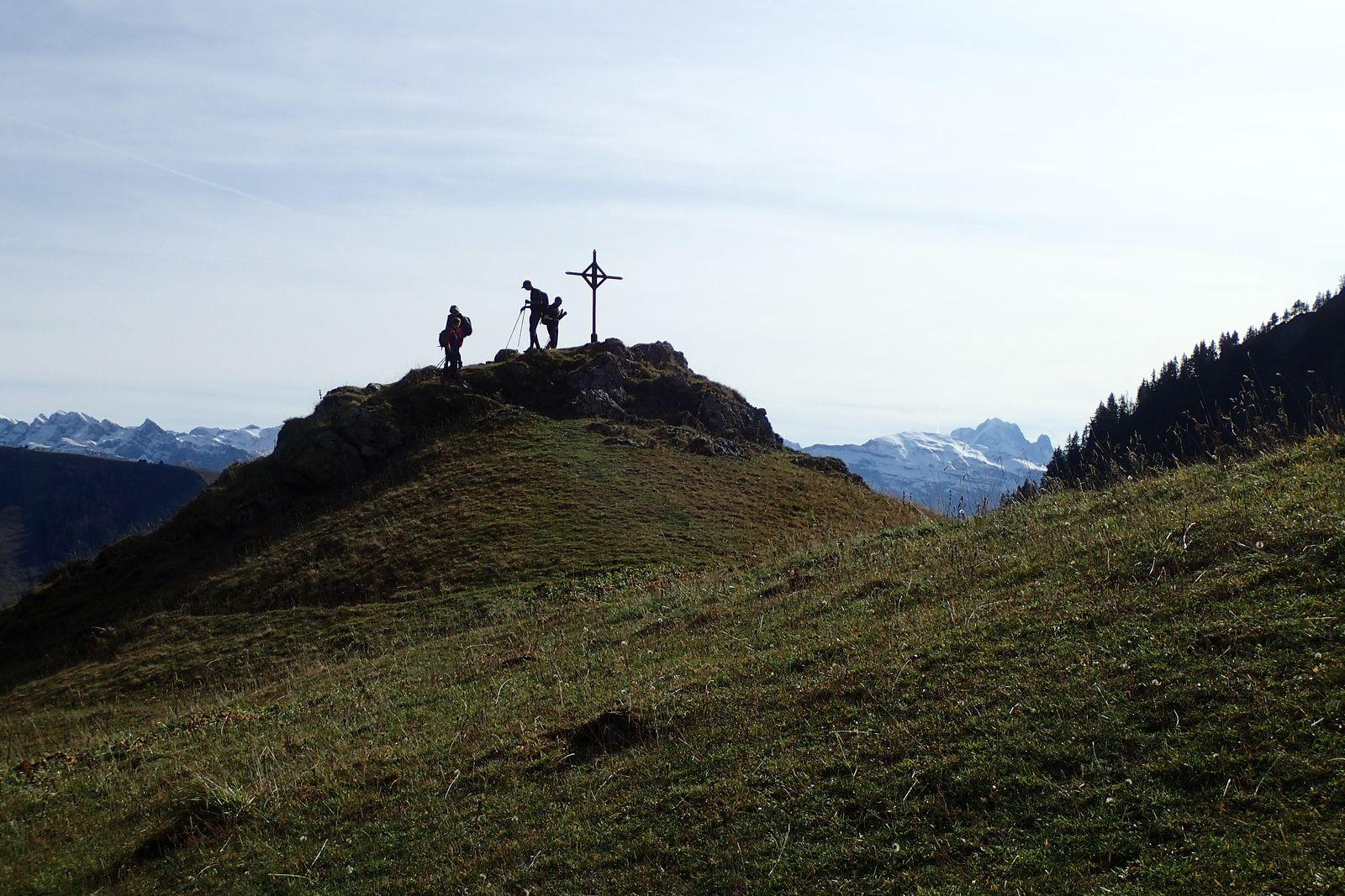 Pointe de Chalune : Depuis Foron