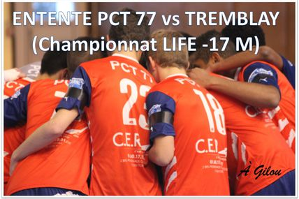 PCT 77 vs TREMBLAY (-17M - Région 14.12.14)