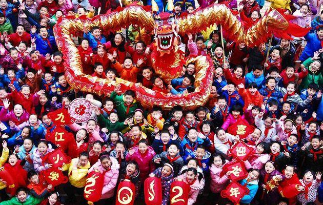 Lundi 23 janvier, l'Asie a fêté la nouvelle année du Dragon