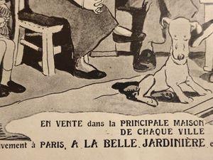 *Pantoufles Rasurel-La-famille-heureuse-Gus-Bofa-Extraits-L'Illustration-1912-12-14-Cl.Elisabeth-Poulain