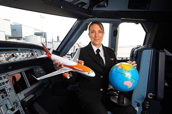 easyjet femme commandant bord aerobernie
