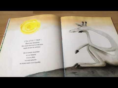 L'histoire de la girafe blanche qui voulait ressembler à une vraie girafe De La Martinière
