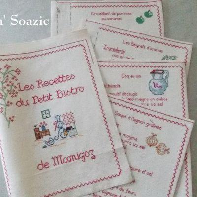Premier Tutoriel du Livre de Recettes Brodées de Mamigoz.