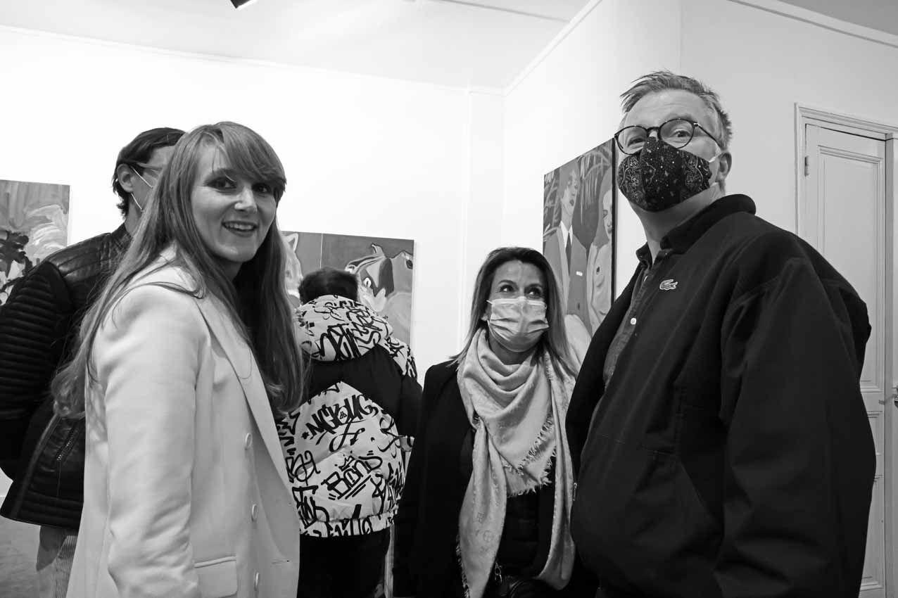 Stéphanie-Lucie Mathern, Inconnue, Richard Leydier