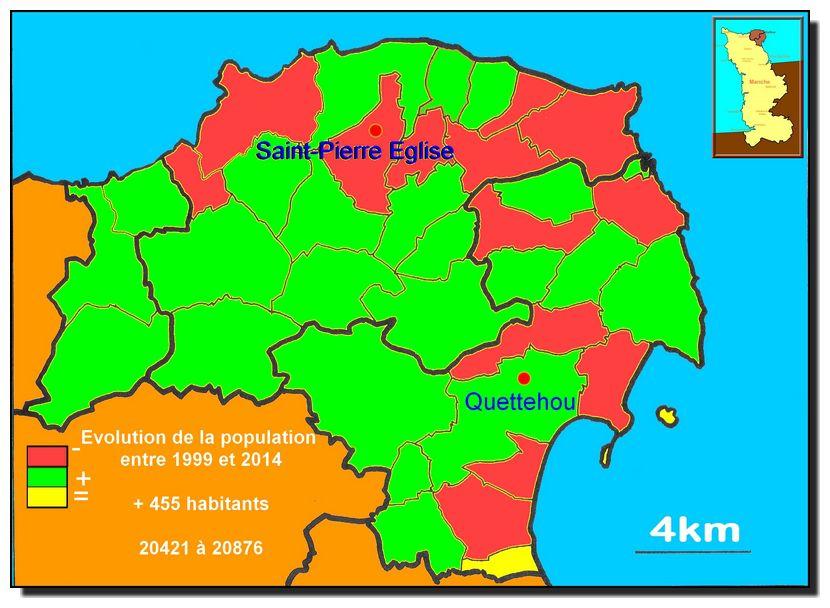 Des cartes du Val de saire et du Cotentin. Ces cartes sont à associer aux articles consacrés aux collectivités locales.