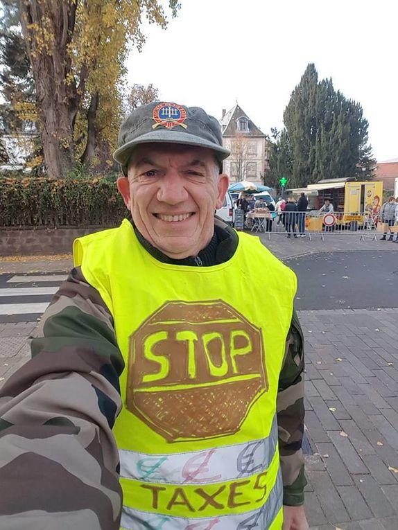 Les militants du Parti de la France étaient avec les gilets jaunes samedi 17 novembre !