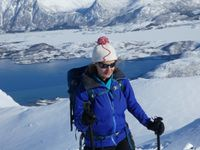 Ski de rando aux Lofoten - Apoutsiak au pays des Vikings - Svarttinden