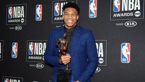 Giannis Antetokounmpo, double MVP et DPOY : « Maintenant, je veux gagner le titre de champion NBA »