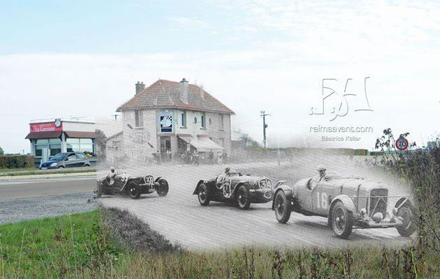 """Circuit Reims-Gueux : le Virage de """"La Garenne"""""""